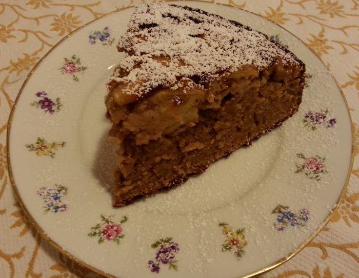 Torta castagne e mele